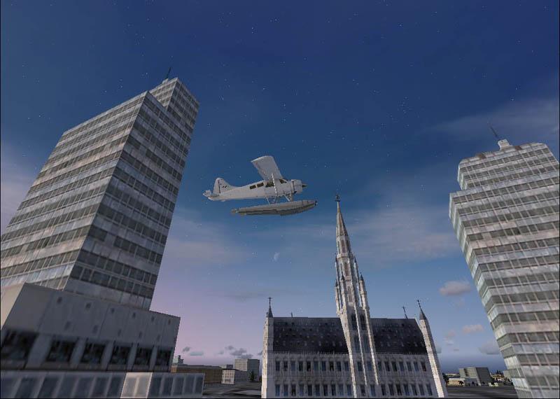 Martin arts 3d art for flight simulator x for Hotel piscine bruxelles