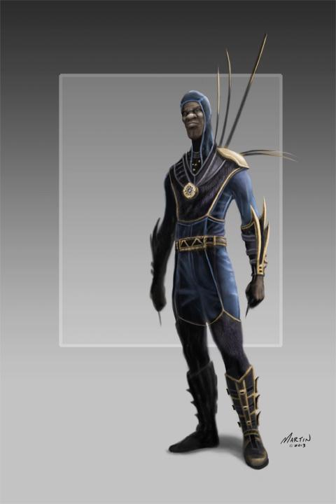 Scott martin samurai time traveller concept for Concept home com